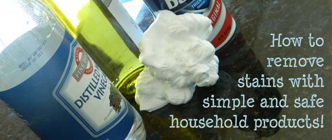 How To Remove Stains With Safe And Simple Household Products