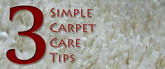 Carpet Care Tips Carter S Carpet Restoration