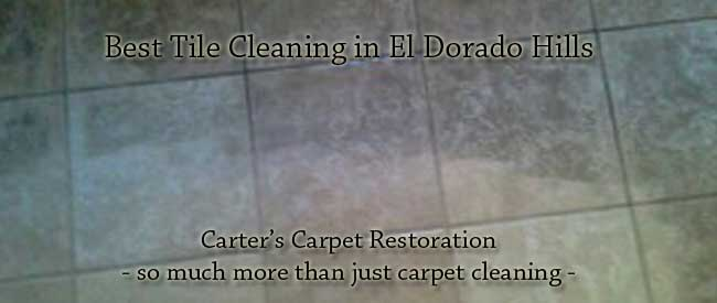 tile cleaning el dorado hills