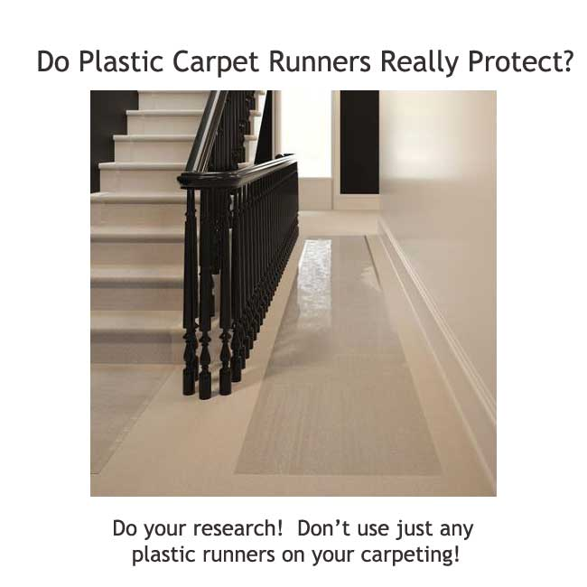 plastic carpet runners