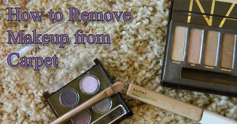 remove makeup from carpet, carpet care tips, carpet cleaning, how to remove makeup from carpet