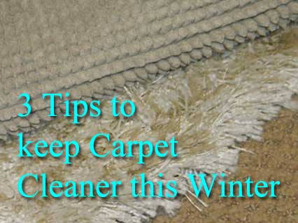 winter weather, clean carpet, carpet cleaner