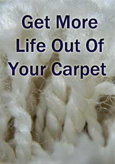 get more life out of your carpet
