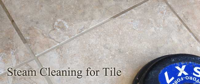 steam cleaning tile