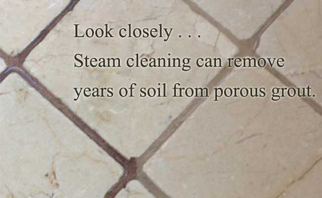 steam cleaning for tile