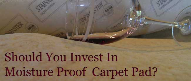 Moisture Proof Carpet Pad