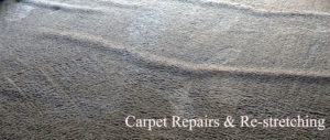 Carpet Repair and Re-stretching in El Dorado Hills