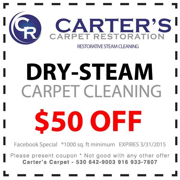 facebook carpet cleaning deal