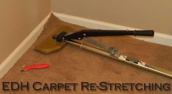 el dorado hills carpet restretching, carpet stretching, carpet repairs,