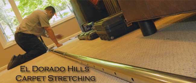 Carpet repairs, carpet stretching, el dorado hills,