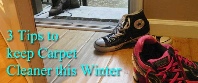 carpet cleaning, winter weather, tips to clean