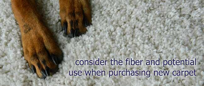 purchasing new carpet tips