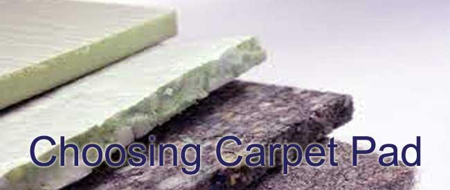 purchasing new carpet