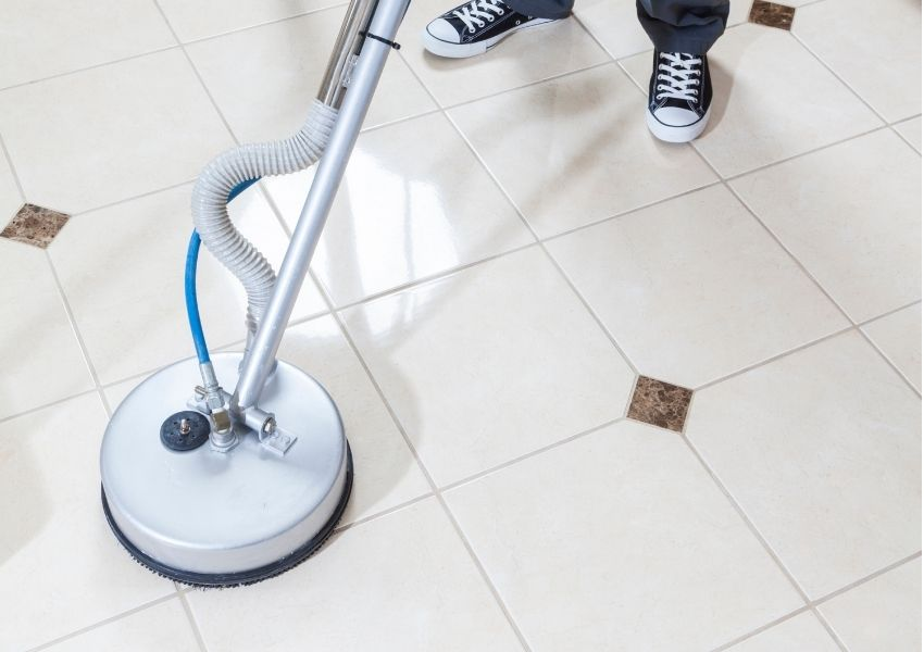 The best way to protect your floor's grout